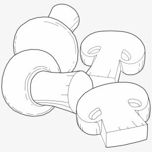 Free Sliced Mushroom Clipart Cliparts, Silhouettes, Cartoons.