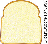 Clipart Slice Of Toast.
