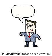 Slick talker Clip Art Illustrations. 7 slick talker clipart EPS.