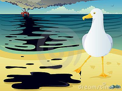 Oil spill clip art.