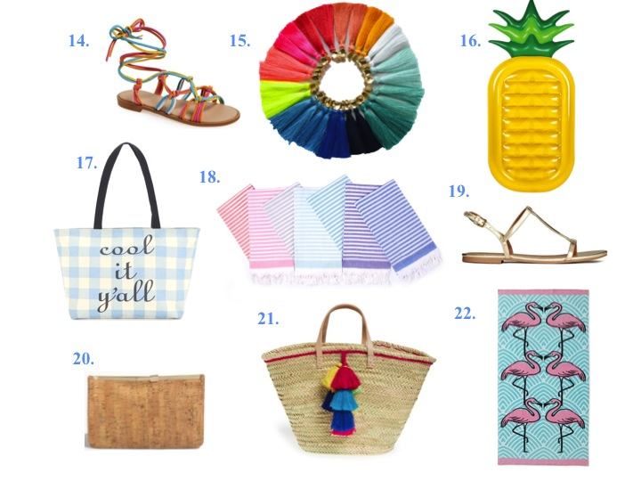 The BEST Summer Accessories Under $100 ~ Wear Bows and Smile.