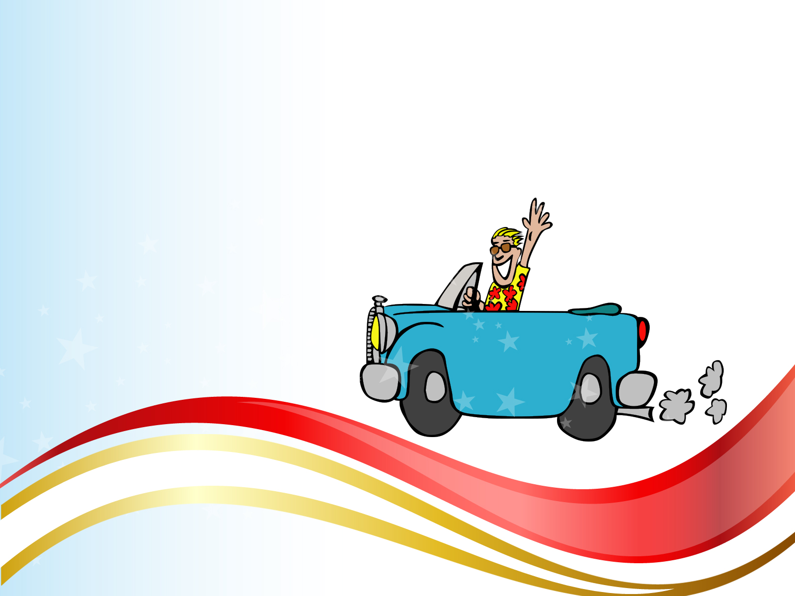 Slide car clipart #9