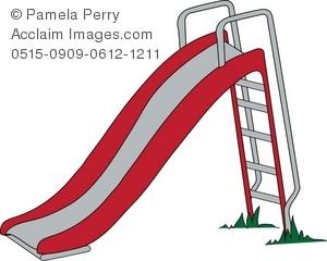 Playground slides clip art.