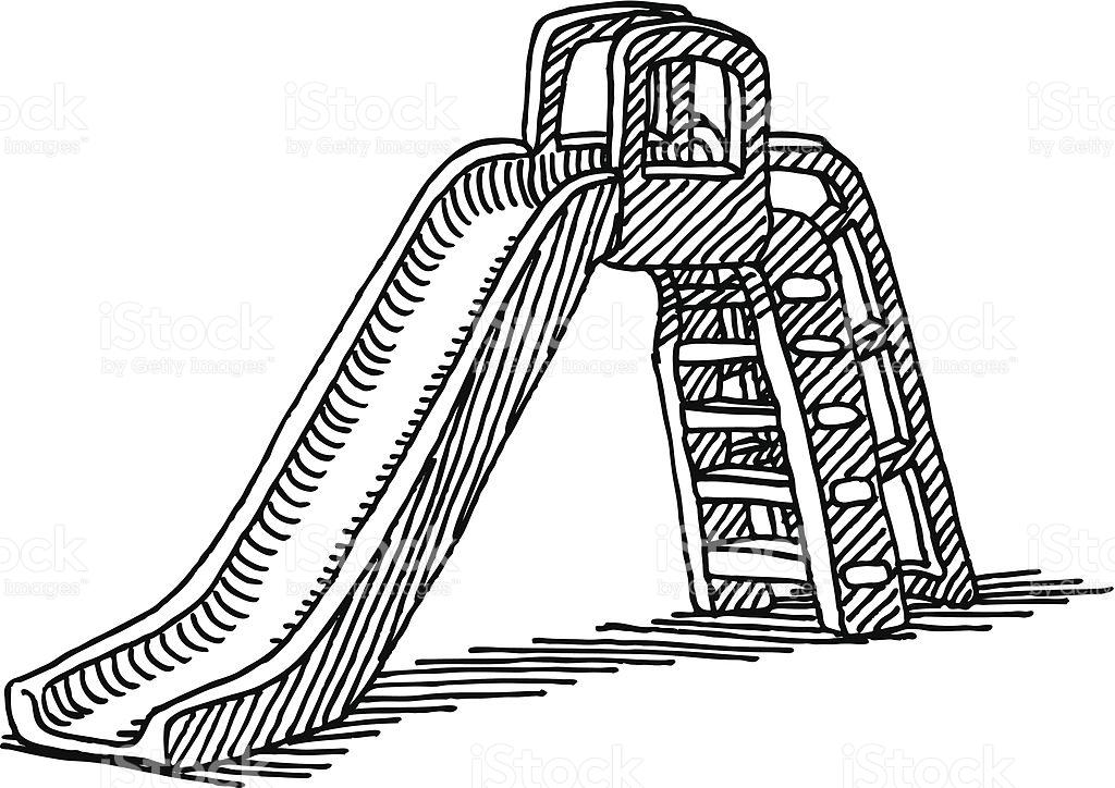Slide Play Equipment Clip Art, Vector Images & Illustrations.