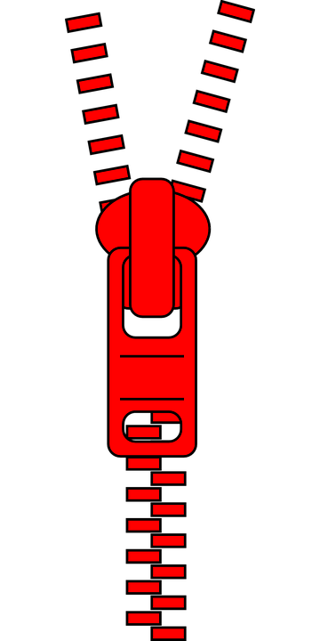 Free vector graphic: Zipper, Slide Fastener, Clothing.