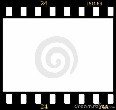 Color film slide clipart.