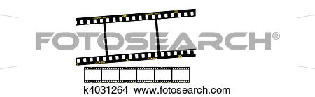 Clipart of slide film strip k4031264.