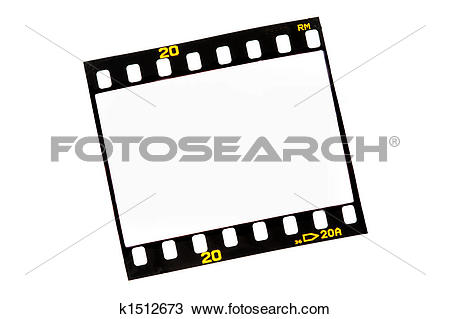 Drawing of Slide film strips with empty frames k1512673.