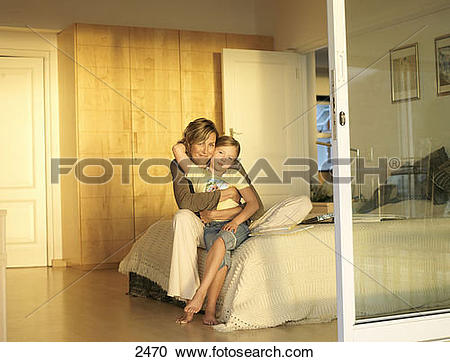 Stock Photography of Mother and daughter (6.