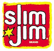 Step Into a Slim Jim Logo.