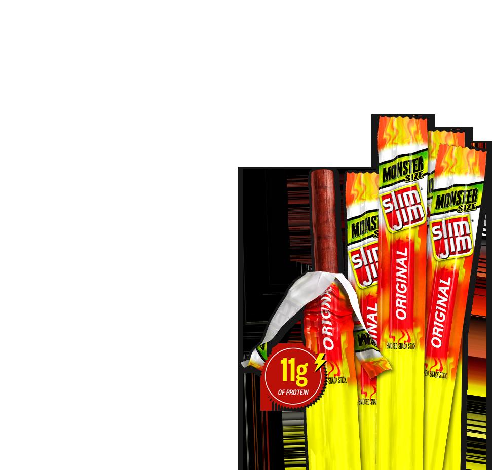 Monster Meat Sticks: Original Flavor.