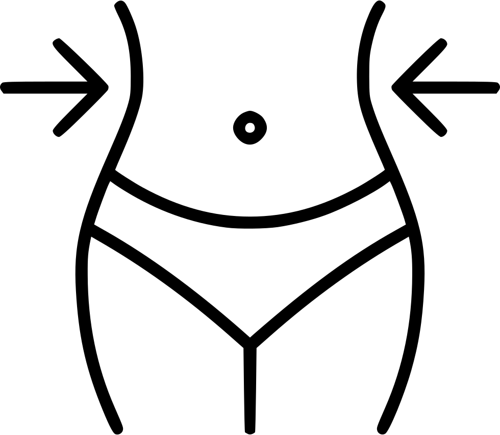 Slimming Toning Slim Weight Losswaist Svg Png Icon Free.