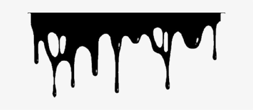 Rozpływanie Slime Water Szablon Black.
