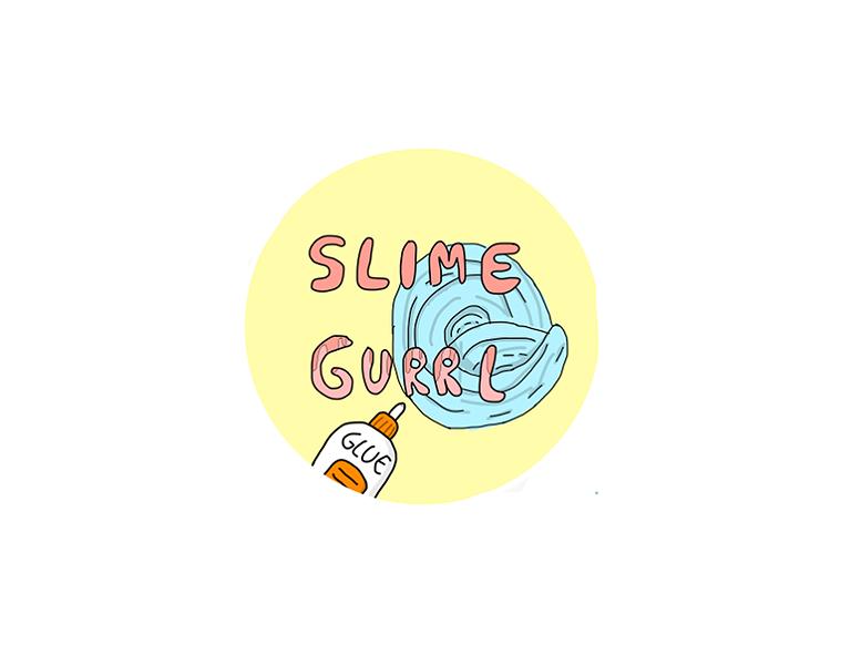 Slime Logo Ideas: Make Your Own Slime Logo Design.
