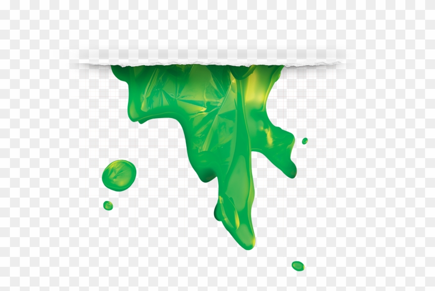 Green Slime Png.