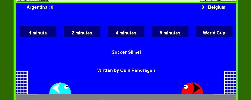 Slime Soccer.