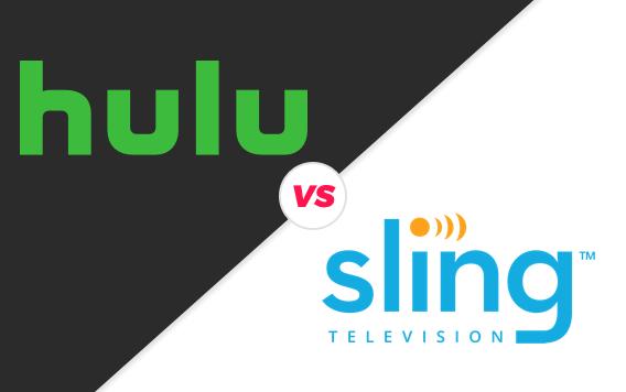 Sling TV vs. Hulu with Live TV.