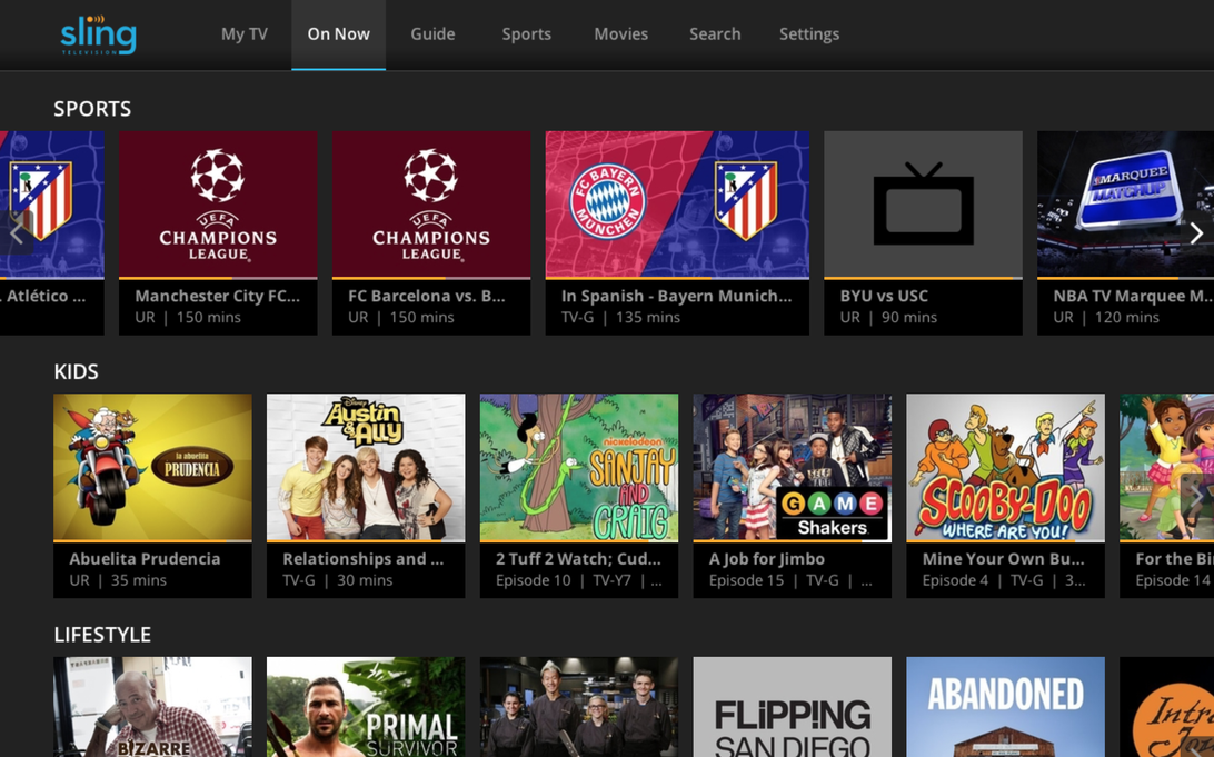 Sling TV: Everything you need to know.