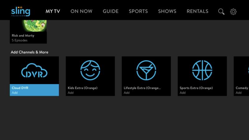 Sling TV Upgrades Roku App.