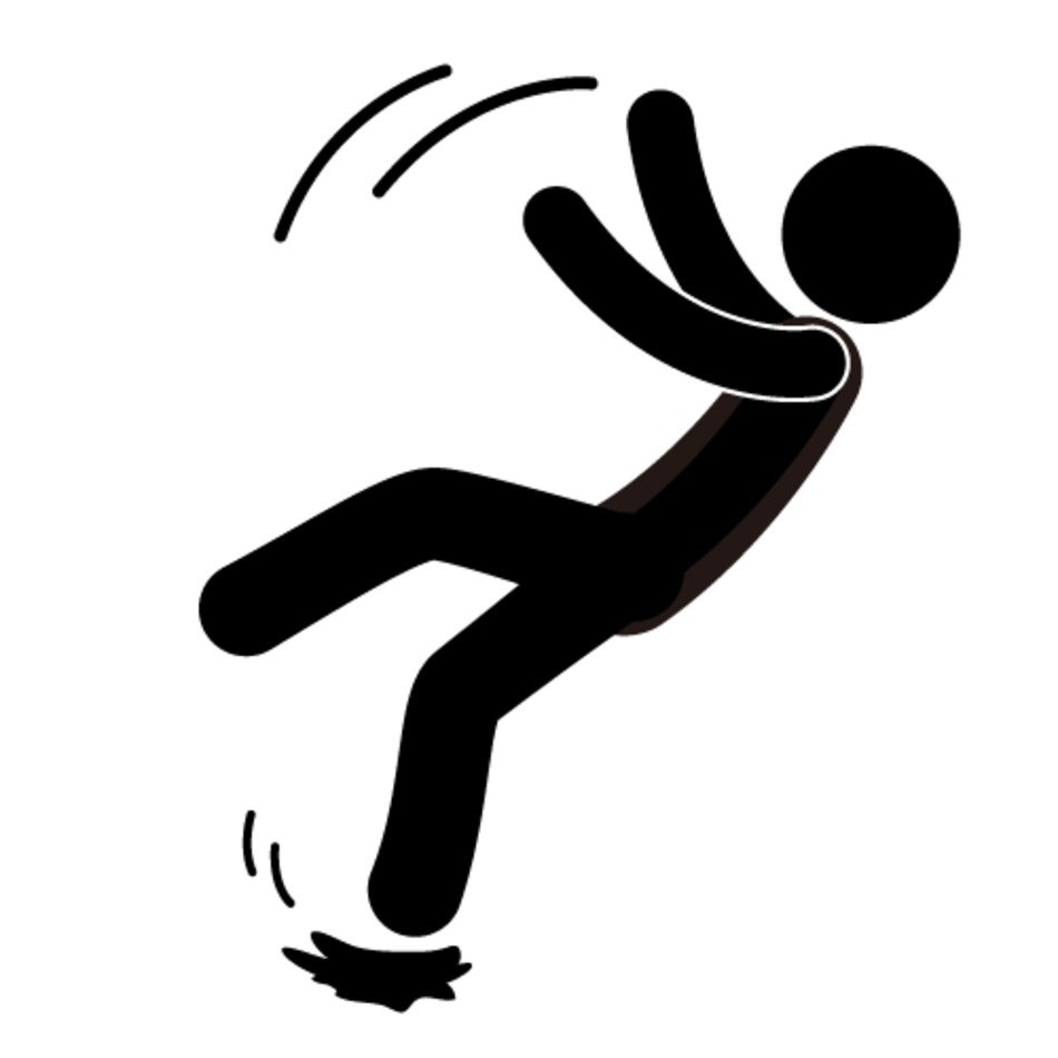 Slip And Fall Clip Art N11 free image.