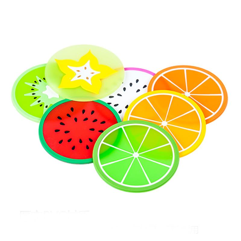 Aliexpress.com : Buy 4pcs/lot Cute Fruit Shape Coasters Round.