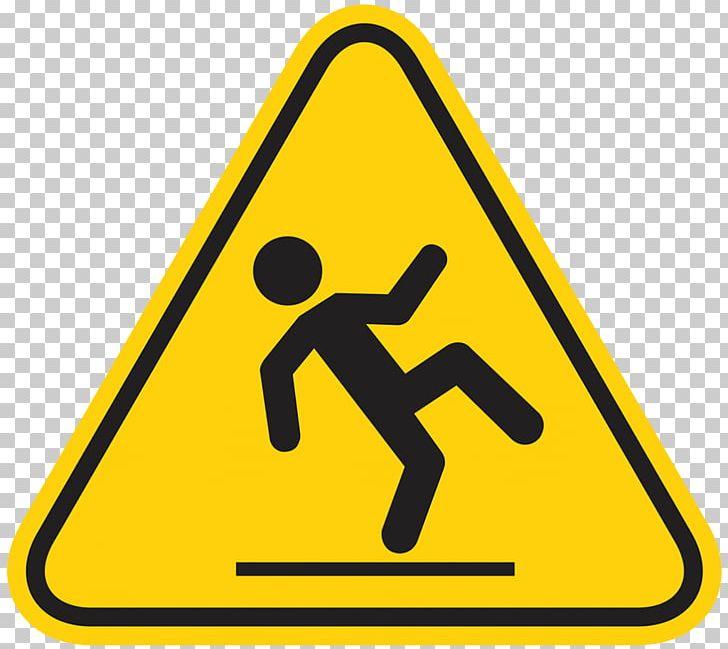 Risk Falling Fall Prevention Slip And Fall Wet Floor Sign.