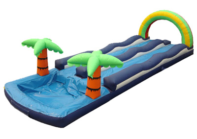 Double Slip n Slide w/pool.