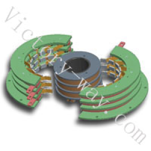 High current slip ring from Victory.