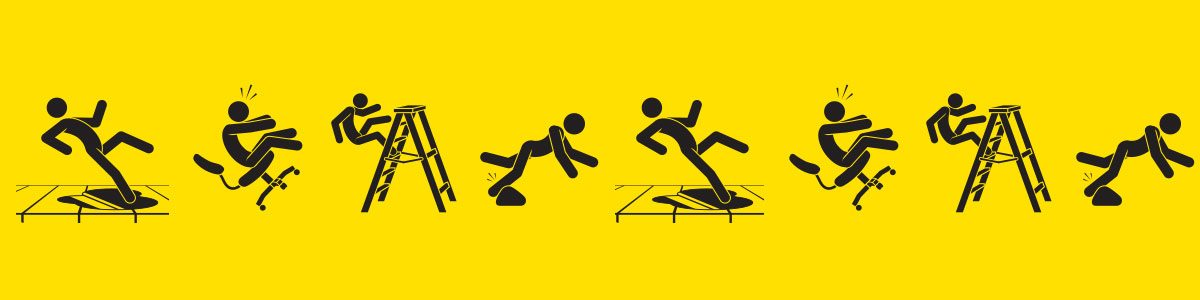 How To Prevent Slips, Trips And Falls In The Workplace.