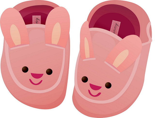 Clip Art Slippers Clipart.