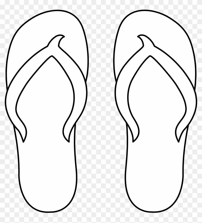 Slippers Png Black And White & Free Slippers Black And White.