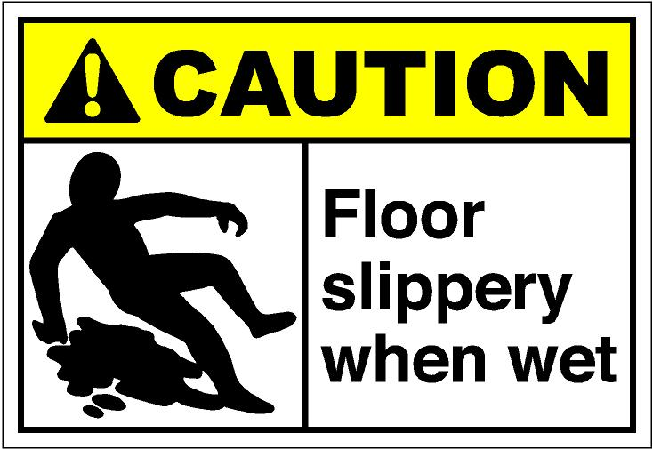 Slippery Floor Caution May Be Pictures to Pin on Pinterest.