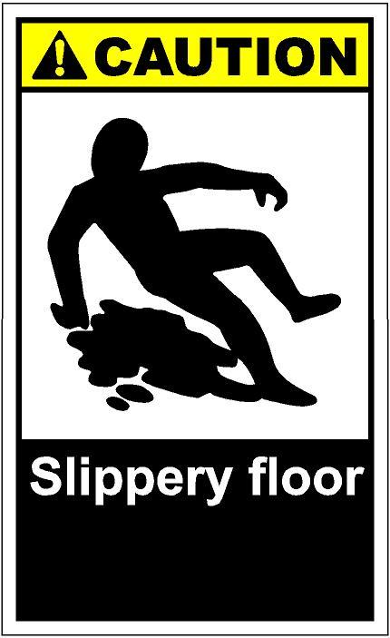 Slippery Floor Clipart.