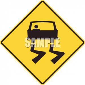 Road Symbol Road Sign.