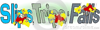 Slip Trip Fall Clip Art Related Keywords & Suggestions.