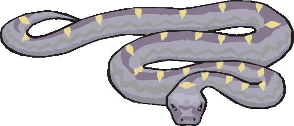 Slithering Snake Clip Art at Clker.com.