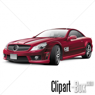 CLIPART CUSTOMIZED MERCEDES SLK.