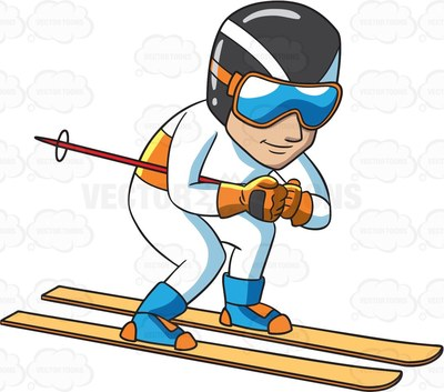 slope Cartoon Clipart.