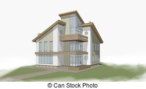 Private house Stock Illustrations. 5,818 Private house clip art.