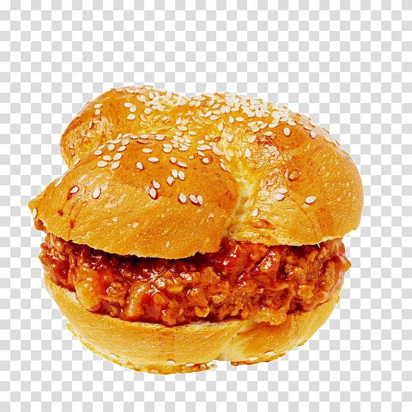 Hamburger Sloppy joe Fast food Cheeseburger Buffalo burger.