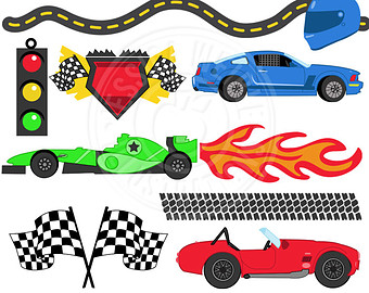 Nascar Clipart slot car racing 16.