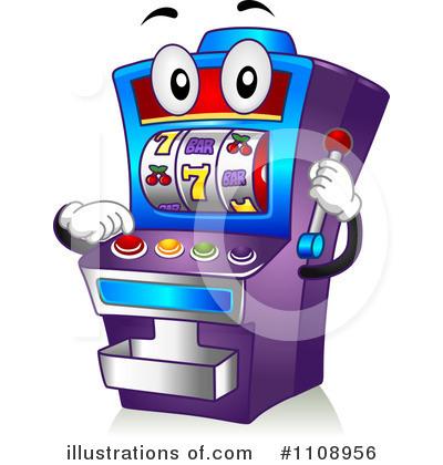 Slot Machine Clipart #1108956.