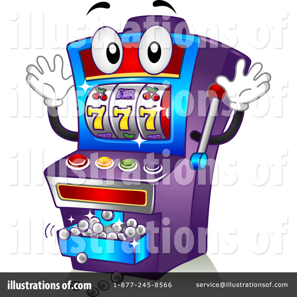 Slot Machine Clipart #1108955.