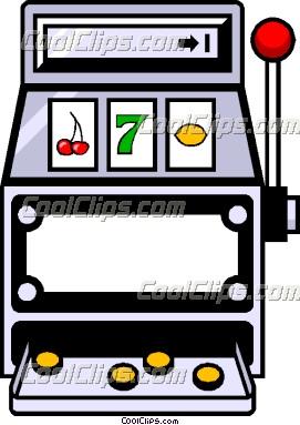 Slot Machine Clipart.