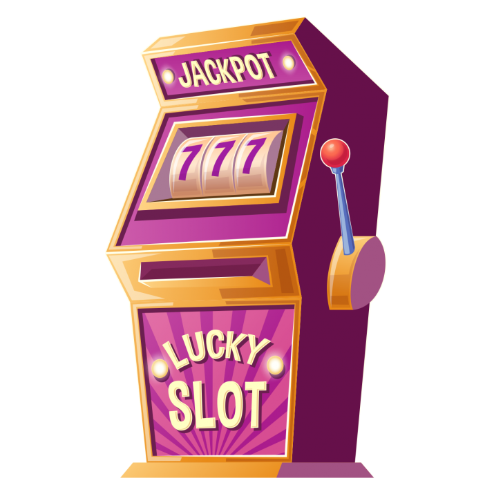 Jackpot Slot Machine PNG.
