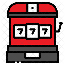 Slot Machine Icon.