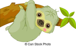 Sloth Clipart and Stock Illustrations. 641 Sloth vector EPS.
