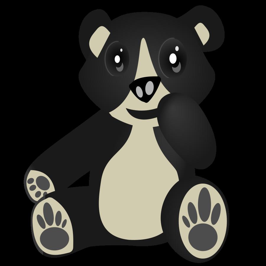 Oso / Bear Clipart, vector clip art online, royalty free design.
