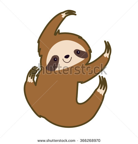 Clipart sloth.