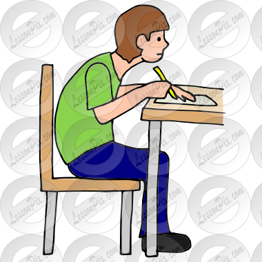 Slouch Picture for Classroom / Therapy Use.